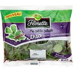 FLORETTE MINI TRIO MACHE ROQUETTE BETTERAVE 45G