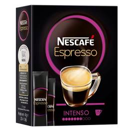 Espresso intenso NESCAFE, 25 sticks de 1,8g
