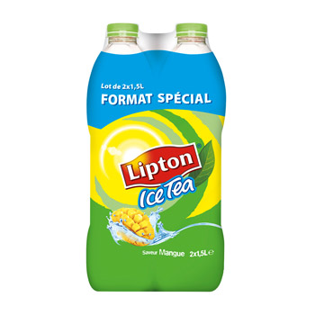 Lipton ice tea mangue 2x1,5l