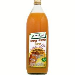 Vallee Verte jus d'orange carotte citron 100% fruit 1l