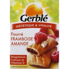 Biscuits framboise amande GERBLE, 200g