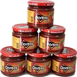Walkers Doritos Hot Salsa Dip (326g) - Paquet de 6