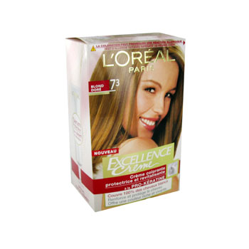 Excellence coloration N°7/3 blond dore