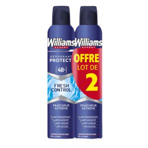 Déodorant atomiseur Fresh 2 x 200 ml