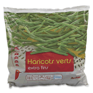 Haricots verts - 6 personnes Extra fins.