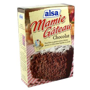 Pr paration pour g teau moelleux au chocolat 435g - Carbonate de sodium danger ...