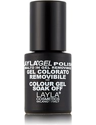 Layla Cosmetics Milano Vernis à Ongles Semi Permanent Soak Off Gel Polish Bright Grass 10 ml
