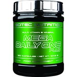 Mega Daily One Plus - 120 gélules - Scitec nutrition