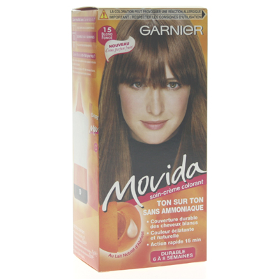 Coloration creme ton sur ton MOVIDA, blond fonce n°15