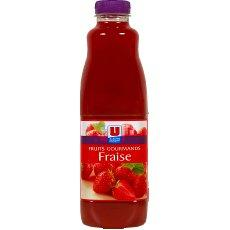 Nectar a la fraise Fruits Gourmands U, 1l