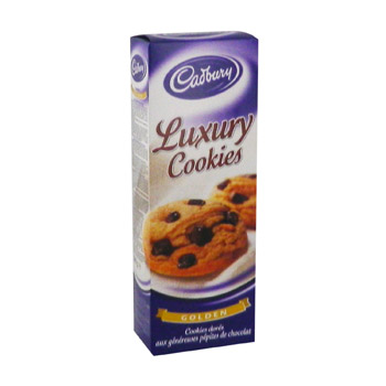 Luxury Cookies nougatine CADBURY, 200g