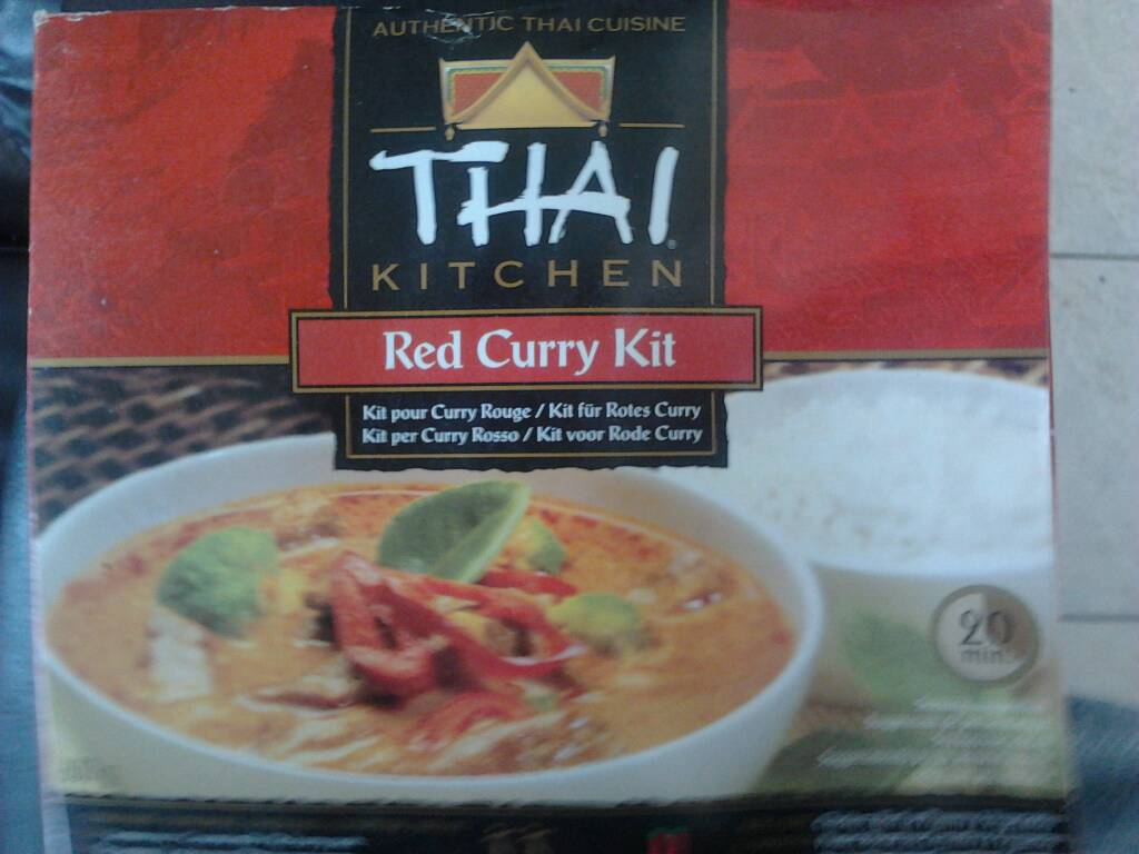 Kit red curry THAI KITCHEN 600g