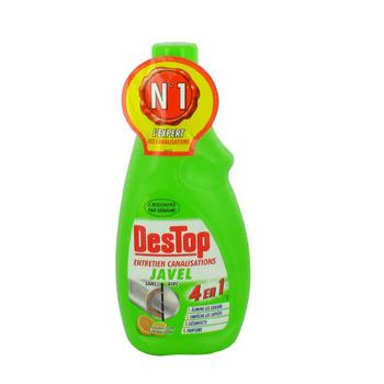 Gel pour entretien des canalisations elimine les odeurs empeche les depots parfume et - Remontee d odeur des canalisations ...