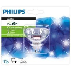 Ampoule Ecohalo Dicroique Philips, 35W, 12V