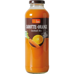 Cocktail Bio - Carottes-Oranges 100% Fruits et Legumes