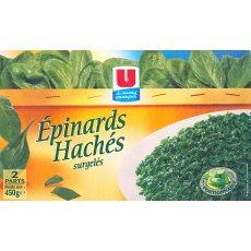 Epinards haches U, 450g