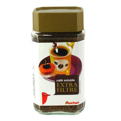 Auchan cafe extra filtre soluble 100g