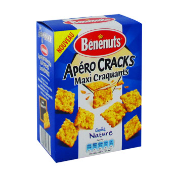 Crackers apero maxi crack nature 90g