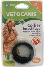 Collier insectifuge pour chien moyen