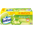Lotus mouchoirs compact etuis x48