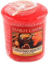 Yankee candle 1275319E Bougie votive senteur Souvenirs de noël 49 g Orange