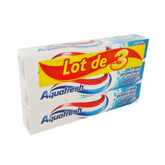 Dentifrice Aquafresh 3 Triple protection 3x75ml