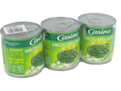 Haricots verts Casino tres fins