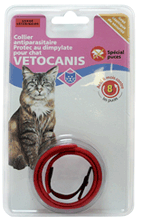 Collier pour chat anti-parasite Vetocanis