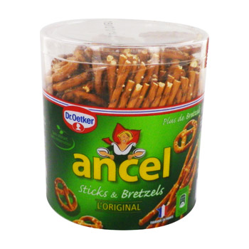 assortiment sticks & bretzels ancel 300g