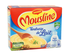 Puree Tendresse de Lait MOUSLINE, 4 portions individuelles, 125g