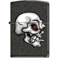 Zippo 50811119 Briquet Skull with Red Eyes 3,5 x 1 x 5,5 cm