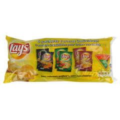 Chips Lay's aromatisees 6x20g