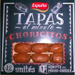 Tapas mini choricitos piquants 80gr