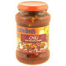 Sauce chili aux haricots rouges uncle ben's, 400g - Tous les produits ...
