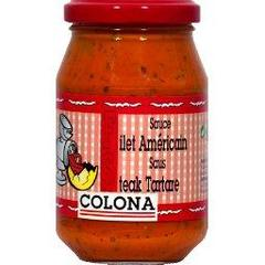 Colona, Sauce filet americain steak tartare, le bocal de 235g