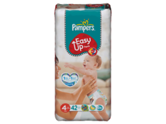 Pampers easy up 8-15kg geant T4 maxi x42