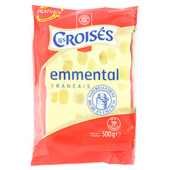 Emmental Les Croises Portion 45%mg 500g