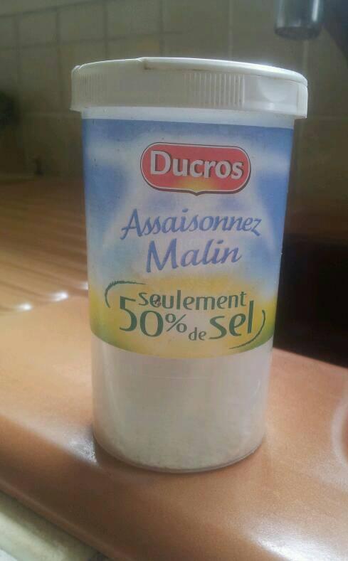 Assaisonez malin seulement 50 de sel ducros 170 g tous les produits sels poivres prixing - Carbonate de sodium danger ...
