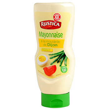 Mayonnaise Rustica tournesol Flacon souple 415g