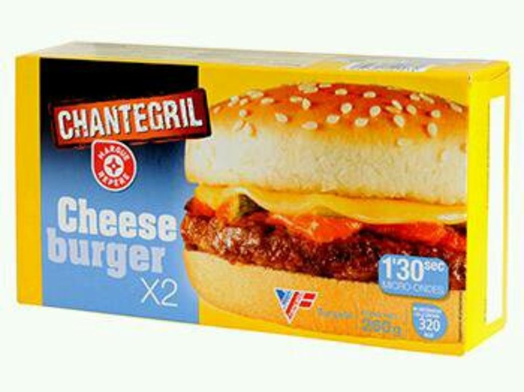 Cheeseburger Chantegril 6x130g