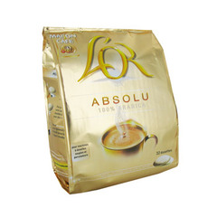 Cafe en dosettes L'OR Absolu, 32 unites, 222g