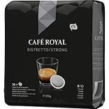 CAFE ROYAL ristreto dosettes x36 250g