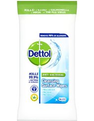 Dettol KRBSCW56 Wipes, Pack of 156