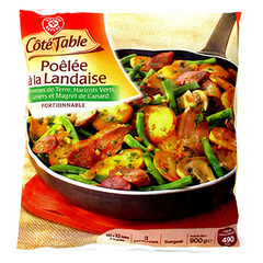 Poelee landaise Cote Table Surgelee 900g