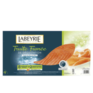 Truite fumée Labeyrie 8tranches 315g