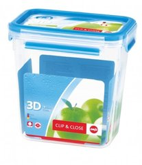 Clip & close perfect clean sans bisphenol A rectangulaire 1,60L