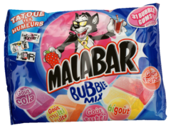 Chewing-gum Bubble mix Malabar