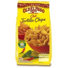 Tortilla chips Oldel Paso Chili 200g