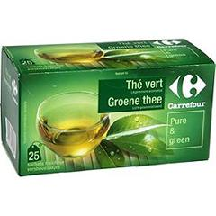 Thé Real Green Carrefour