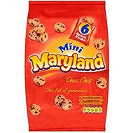 Maryland Mini Choc Chip Cookies (6x25g)